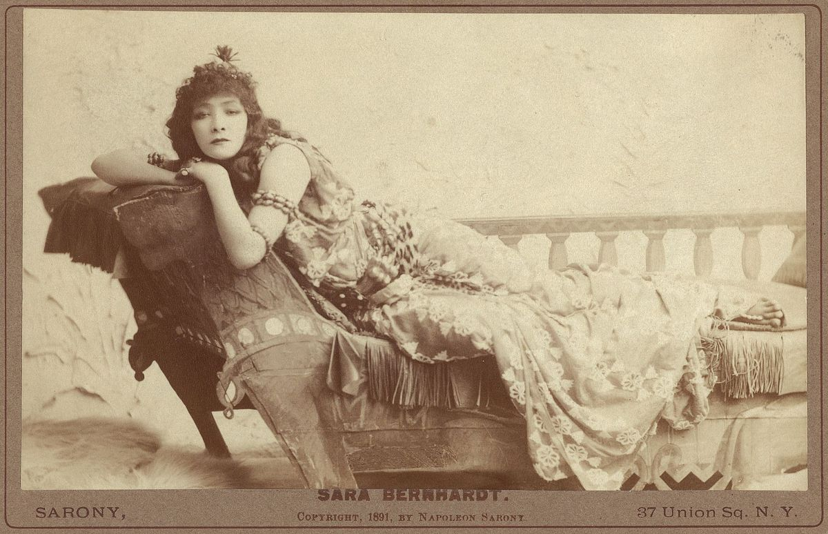 Sarah Bernhardt (1844 - 1923) - Actress