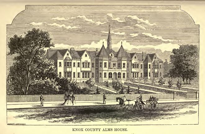 Knox County Alms House, Knoxville, Illinois
