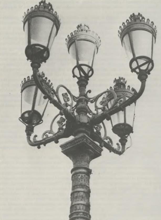 Street Light   Five Lamp Arc Light Design